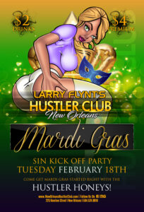 Mardi Gras Sin Kick Off Party
